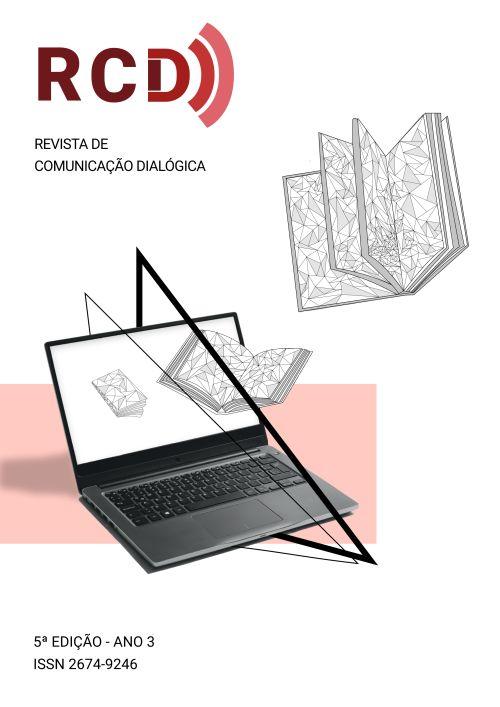 Um computador portátil e 3 livros voando, em um crescendo, a partir de sua tela