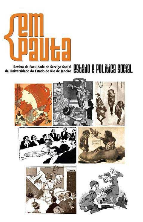 Capa da Revista Em Pauta (Edição 23)