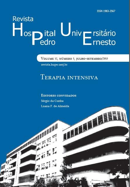 Revista HUPE - Terapia Intensiva