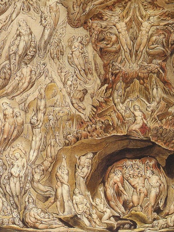 Imagem da capa: Uma Visão do Juízo Final, William Brake, 1808