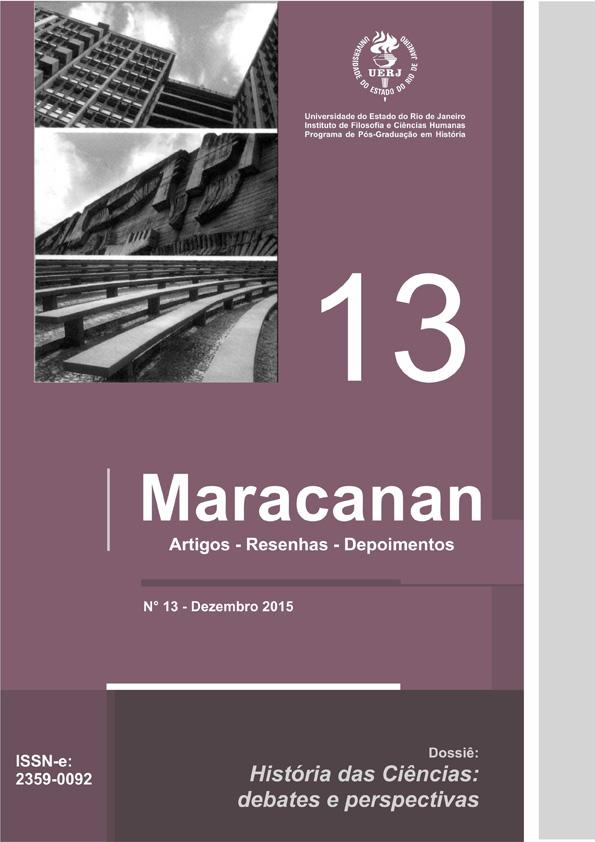 Revista Maracanan - número 13. História das Ciências